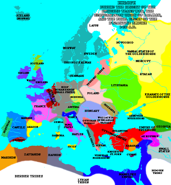 Europe in 1430