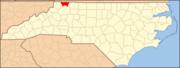 North Carolina Map Highlighting Alleghany County.PNG