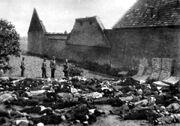 Lidice massacred men