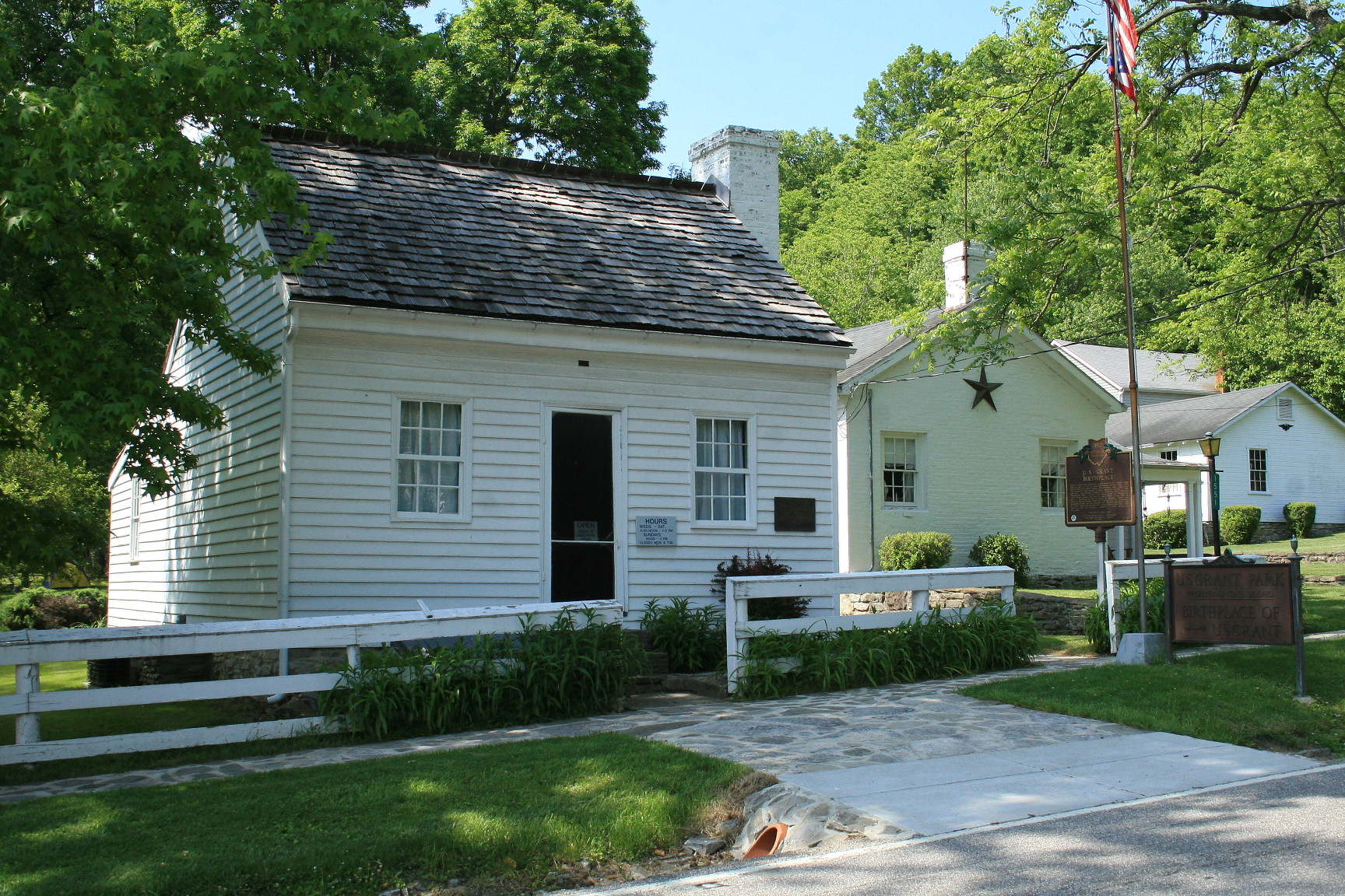 ulysses s grant 1822 1885 biography familypedia fandom grantbirthplace ulysses grant birthplace