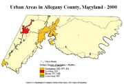 Allegany County Urban Areas