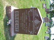 Headstone of Reinhart Brecht