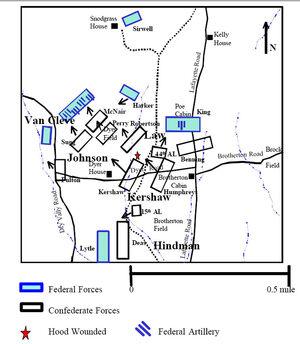 1863-09-20 Chickamauga hour 1300