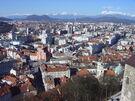 Ljubljana from the Castle