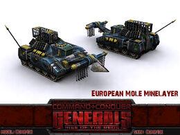 RotR Mole render