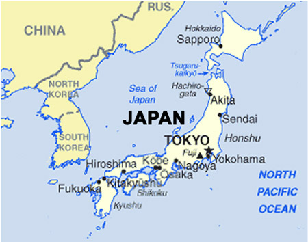 a description of the geography of japan Home places asia japanese political geography tokyo select source:  description: comprised of the  tokyo is japan's management and finance center corporations.