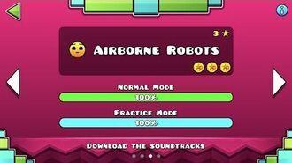 Geometry Dash Meltdown - Airborne Robots