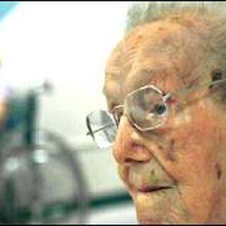 Sarah Knauss at age 119.