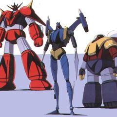 Getter Robo G Forms in Armageddon