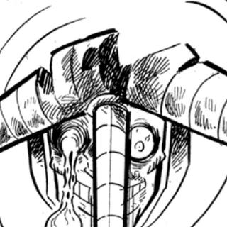 Garo after fighting Musashi