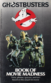 GhostbustersScholasticBookOfMovieMadnesscover