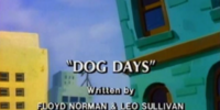 Dog Days (Slimer!)