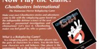 Ghostbusters Roleplaying Game Series