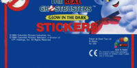 The Real Ghostbusters Glow In The Dark Stickers (Jotastar)