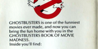 Ghostbusters: Book Of Movie Madness