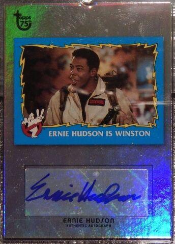 File:GB2 Topps 75th Ernie Hudson Foil Card1a.jpg