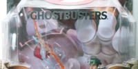 "Matty Collector: 6″ Ray Stantz ""Marshmallow Mess"" with Ghostbusters Logo Base"