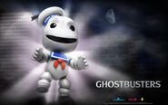 Little Big Planet Stay Puft Wallpaper 1920 x 1200 (16.10 Wide)
