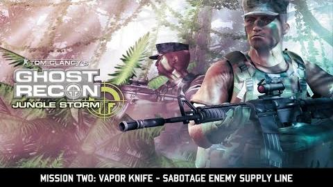Let's Play Ghost Recon Jungle Storm w Chow860 2 - Vapor Knife