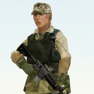 Susan Grey in Desert Siege