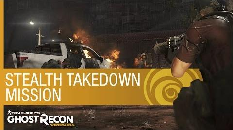 Tom Clancy's Ghost Recon Wildlands Gameplay Stealth Takedown Mission US