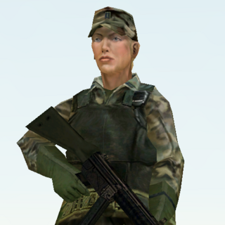 Susan Grey in Ghost Recon