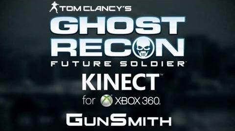 "Ghost Recon Future Soldier - ""Kinect GunSmith"" Demo Trailer (2012)"