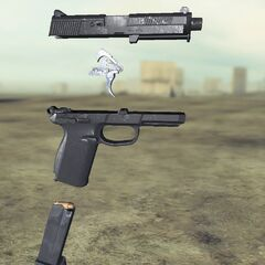 Ghost recon Future Soldier FN FNP45 3