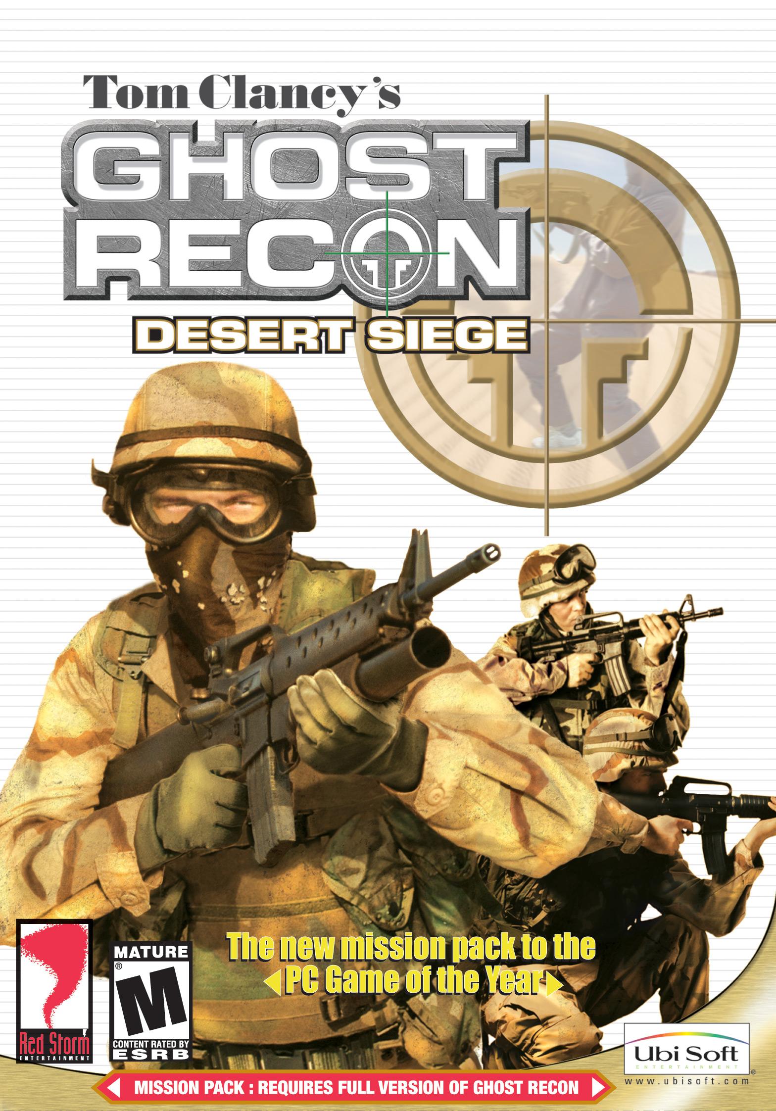 tom clancy u0026 39 s ghost recon  desert siege