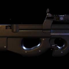 Stock P90 with factory new paint. (WIldlands)