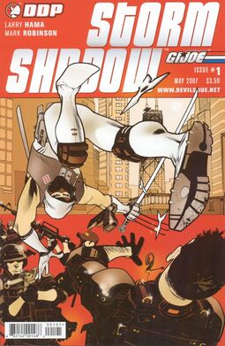 G.I Joe Storm Shadow
