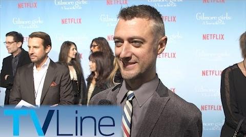 Sean Gunn Gilmore Girls Red Carpet Premiere Interview TVLIne