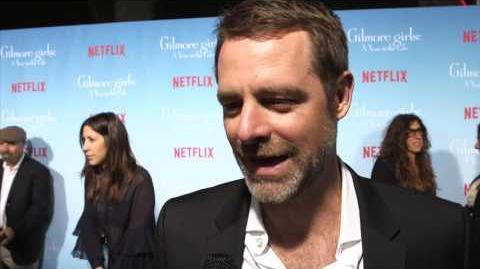 David Sutcliffe Gilmore Girls Red Carpet Premiere Interview TVLIne