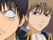 Shinpachi and Sougo Episode 184