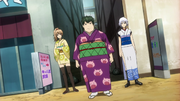 Female Sougo, Female Hijikata and Female Gintoki Episode 276