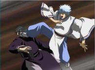 Gintoki Sakata as an Onmyouji