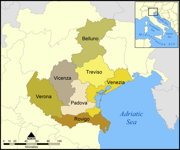 File:Provinces of Veneto map.png