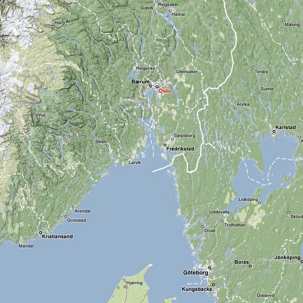 Oslo-map
