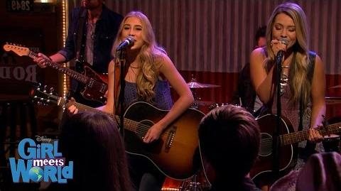 """Maddie & Tae """"No Place Like You"""" Girl Meets World Disney Channel"""