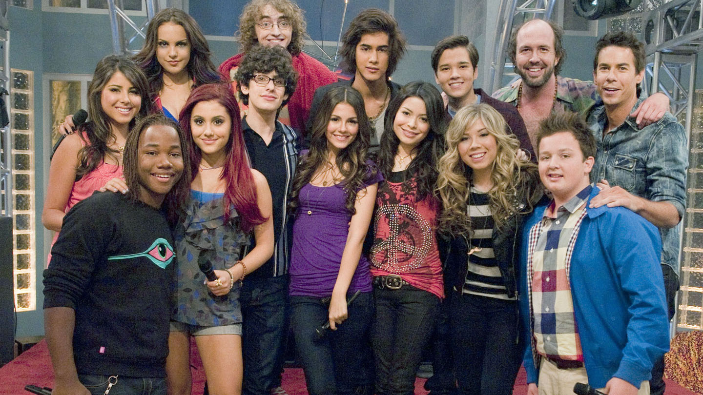 I Carly Cast: Nickelodeon IParty Cast Photograph ICarly Cast And