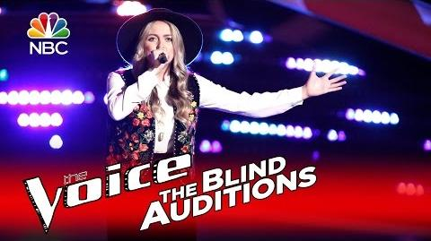 """The Voice 2016 Blind Audition - Darby Walker """"Stand by Me"""""""