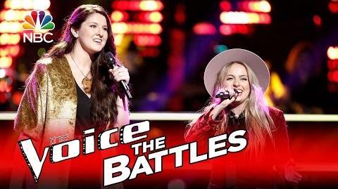 The Voice 2016 Battle - Darby Walker vs