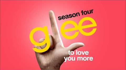 To Love You More - Glee HD FULL STUDIO
