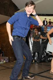 File:Chris Colfer Dancing.jpeg