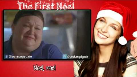 Glee - The First Noel Traducida Video