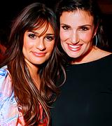 Idina Menzel And Kristin Chenoweth Glee