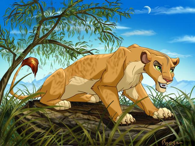 File:LionessUnderTheTree.jpg