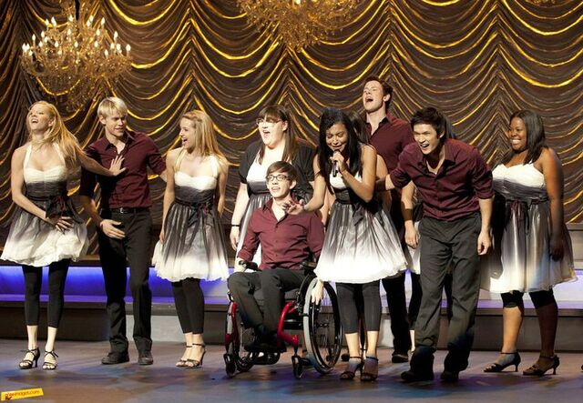 """File:""""Valerie"""" sung by Santana with New Directions.jpg"""