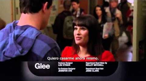 Glee 3x14 - On My Way Promo SUB (HD)