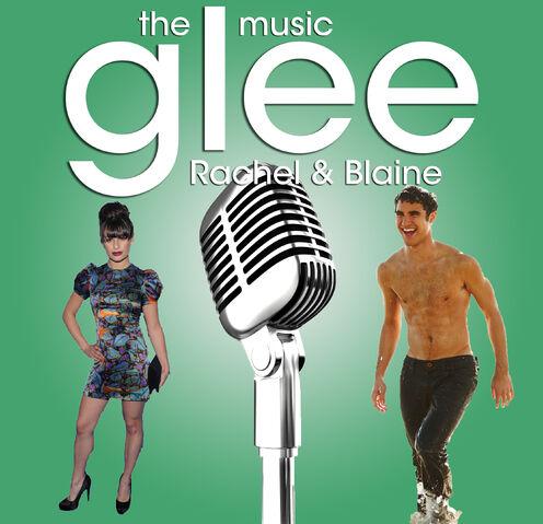 File:Glee - The Music - Rachel & Blaine.jpg